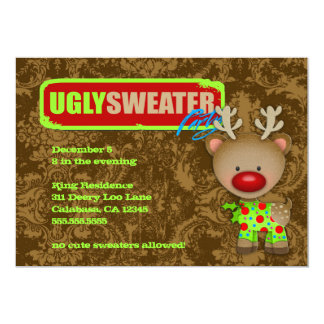 GC Ugly Sweater Party Card