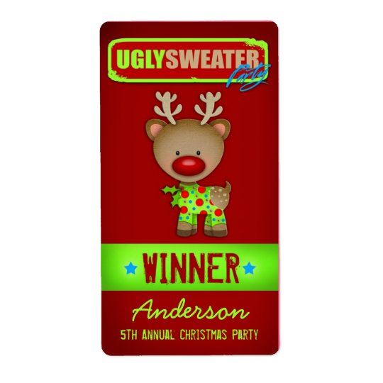 GC Ugly Sweater Wine Label Winner