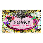 GC | Whimsical Vintage Charm Pink Bee Pack Of Standard Business Cards