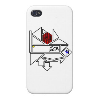 GCA shapes iPhone 4/4S Cover