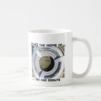 GCHQ Donut, ... tea and donuts, GCHQ the home o... Coffee Mug
