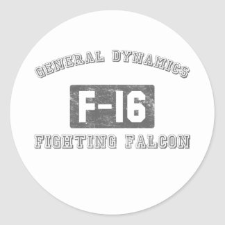 GD-F16 ROUND STICKER
