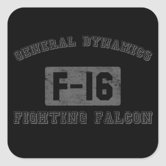 GD-F16 SQUARE STICKERS