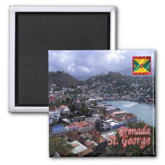 GD - Grenada - St. George Magnet
