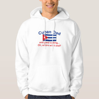 Gd Lkg Cuban Dad Hooded Pullovers