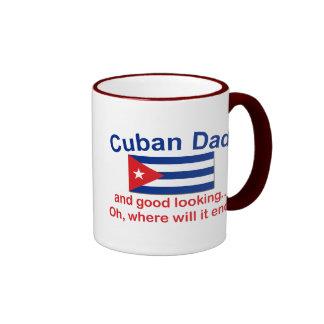 Gd Lkg Cuban Dad Ringer Mug