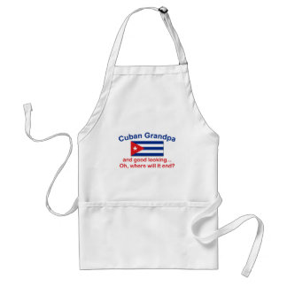 Gd Lkg Cuban Grandpa Standard Apron