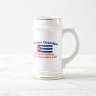 Gd Lkg Cuban Grandpa Beer Steins