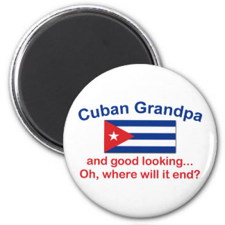 Gd Lkg Cuban Grandpa Fridge Magnets