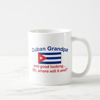 Gd Lkg Cuban Grandpa Basic White Mug