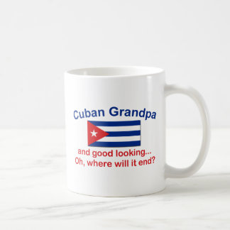 Gd Lkg Cuban Grandpa Coffee Mugs