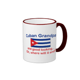 Gd Lkg Cuban Grandpa Coffee Mugs