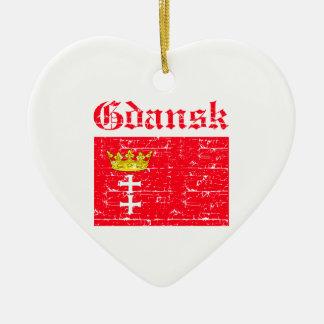 Gdansk City designs Christmas Ornament