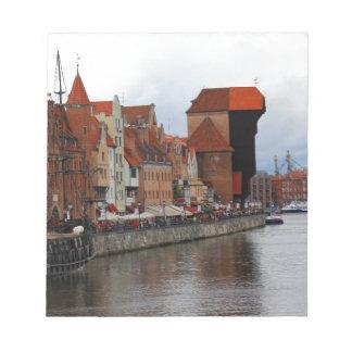 Gdansk, Poland Notepad