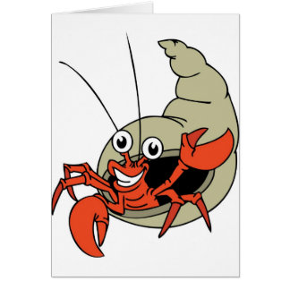 G'day Crab Card