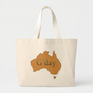 G'day Large Tote Bag