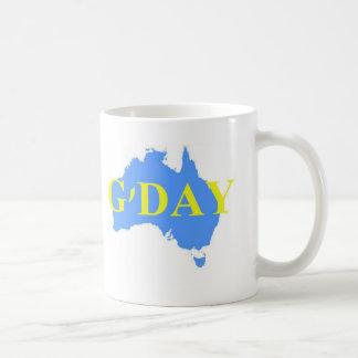 G'Day T-shirt - Australian Coffee Mug