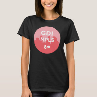 GDI MPLS Logo Dark Tee
