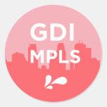 GDI MPLS Logo Sticker