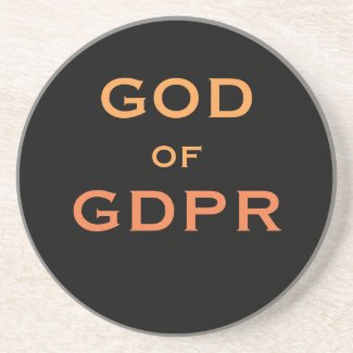 GDPR God Data Compliance Gift Idea Funny Joke Name