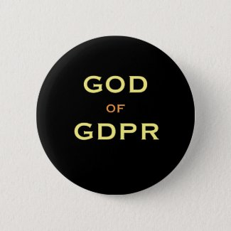 GDPR God Specialist Gift Idea Funny Joke Name