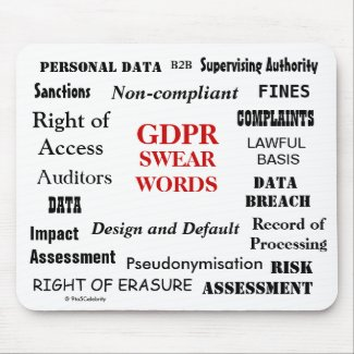GDPR Swear Words Annoying Funny Compliance Joke