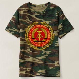 f20d7a544 GDR DDR NVA Emblem German Communist East Germany T-Shirt
