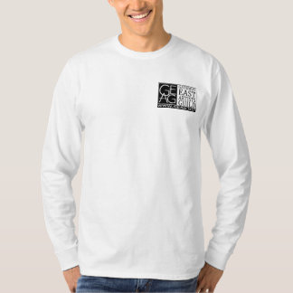 geag logo mens long sleeve front and back tees