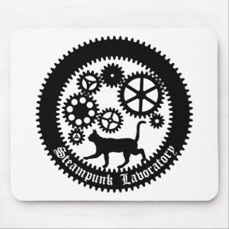 Gear Cat Mouse Pad