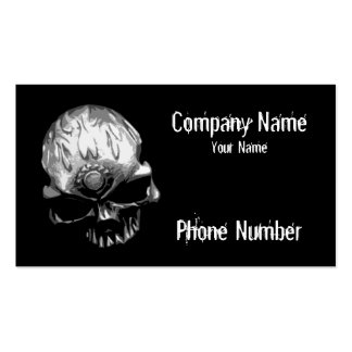 Gear Head Skull Pack Of Standard Business Cards