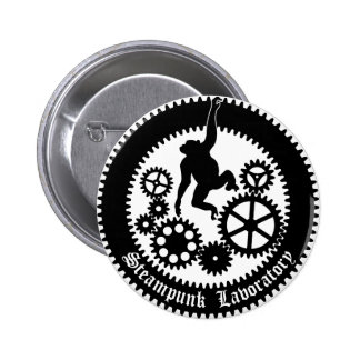 gear monkey 2 6 cm round badge