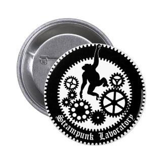 gear monkey 2 6 cm round badge