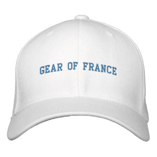 GEAR OF FRANCE EMBROIDERED BASEBALL CAP