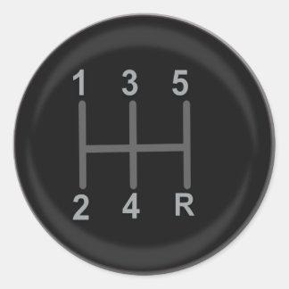 Gear Shift stickers
