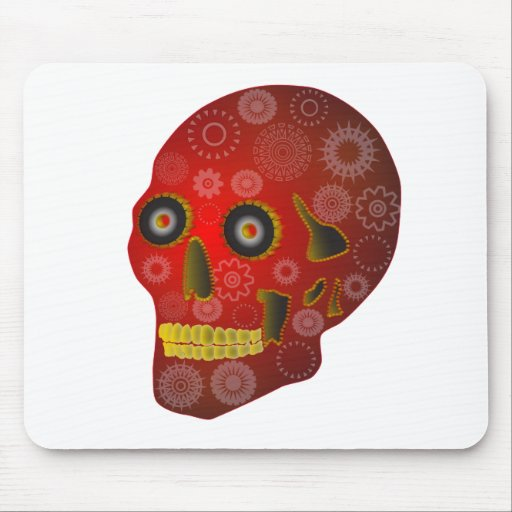 Gear Skull Mousepad