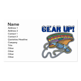 Gear Up Business Cards