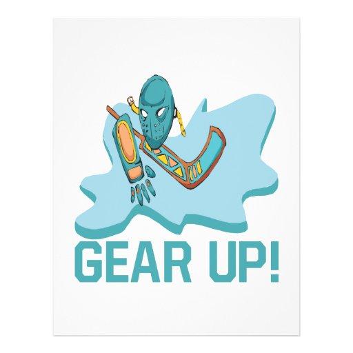 Gear Up Flyer Design