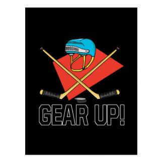 Gear Up Postcard