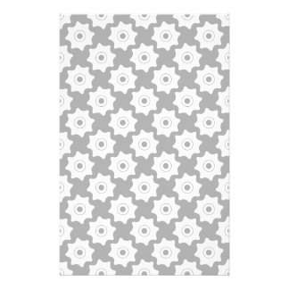 Gear wheels seamless pattern customized stationery