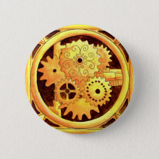 Gearbox1 6 Cm Round Badge