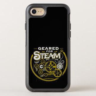 Geared for Steam OtterBox Symmetry iPhone 8/7 Case