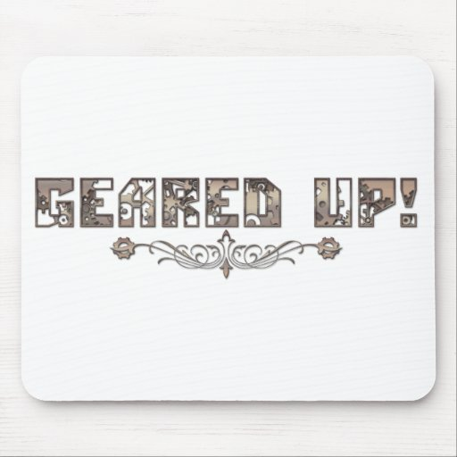 Geared Up Mousepad