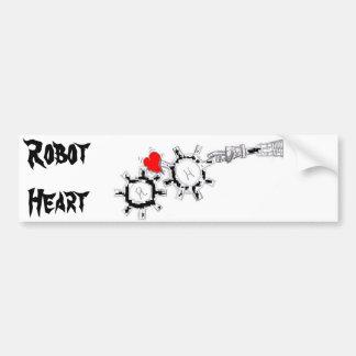 Gears2, RobotHeart Bumper Sticker