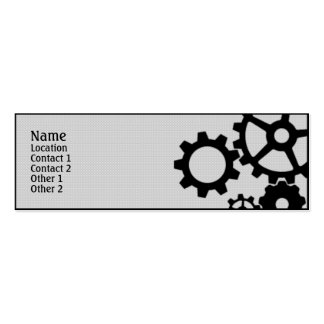 Gears Business Cards