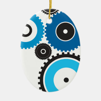 Gears Christmas Ornament