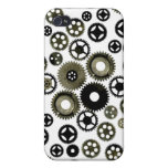 Gears Galore Cover For iPhone 4