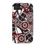 Gears like flower Bloom - steampunk gears iphone4 iPhone 4/4S Cover