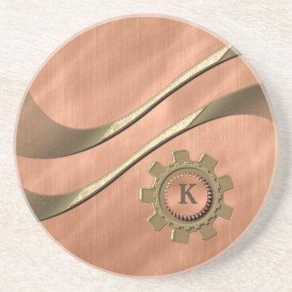 Gears on Copper Coasters