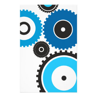 Gears Stationery Design