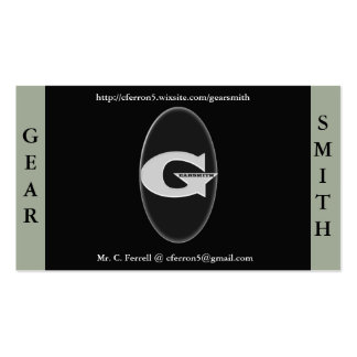 Gearsmith Business Cards